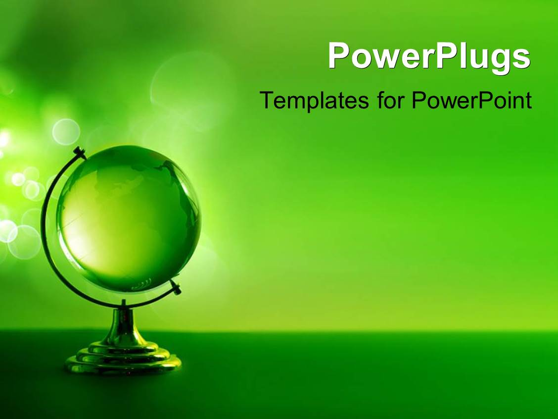 powerpoint template 3d monster - photo #28