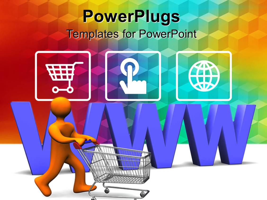Online Shopping PowerPoint Templates | CrystalGraphics