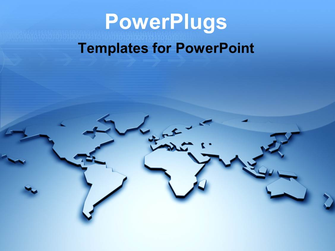 map powerpoint templates crystalgraphics