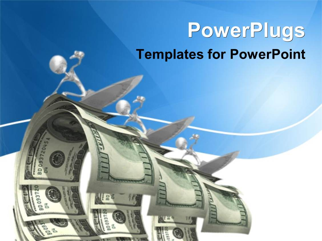 Money powerpoint templates crystalgraphics presentation with abstract 3d figures surfing on dollar waves toneelgroepblik Images