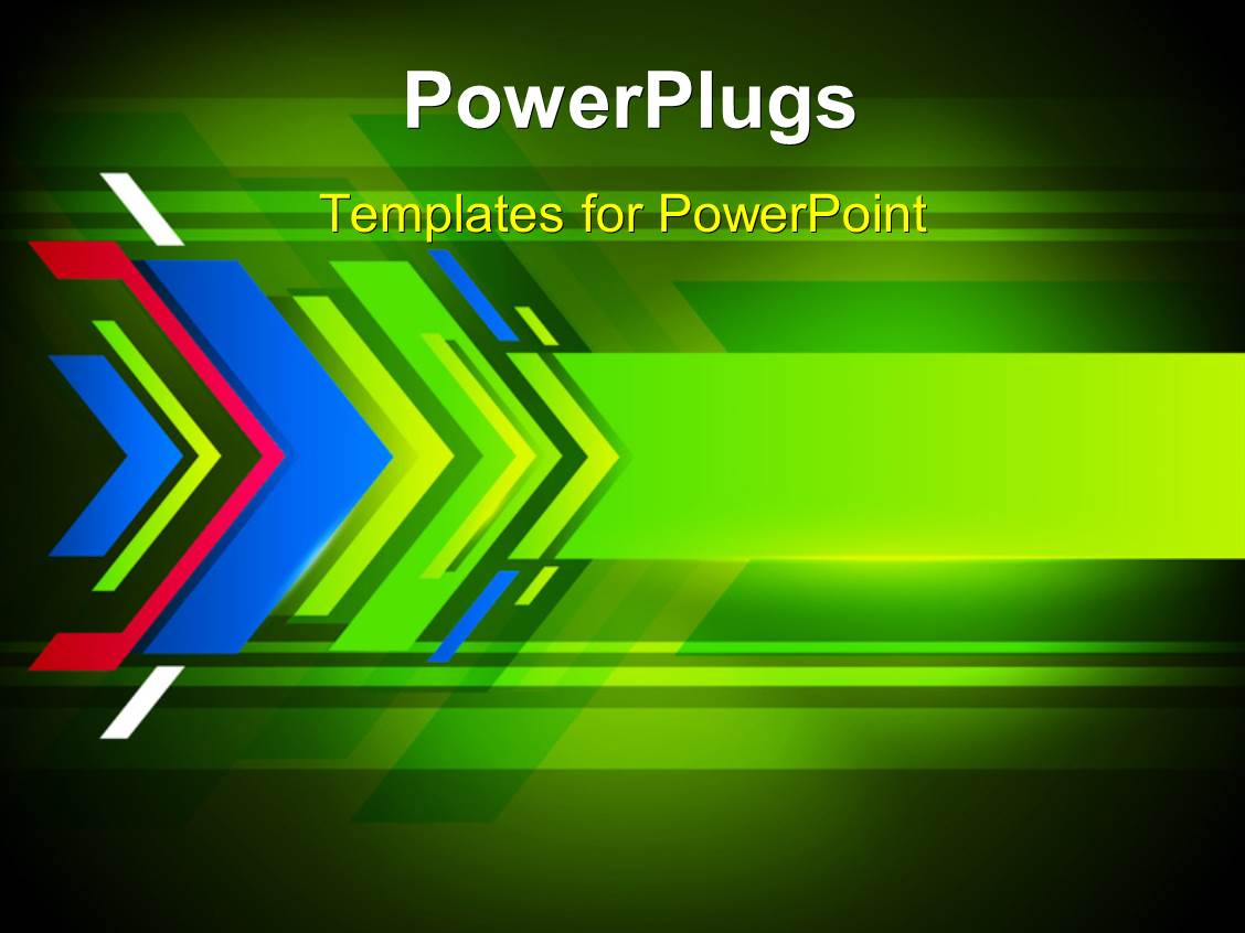 price is right powerpoint template - powerpoint template abstract background with colorful