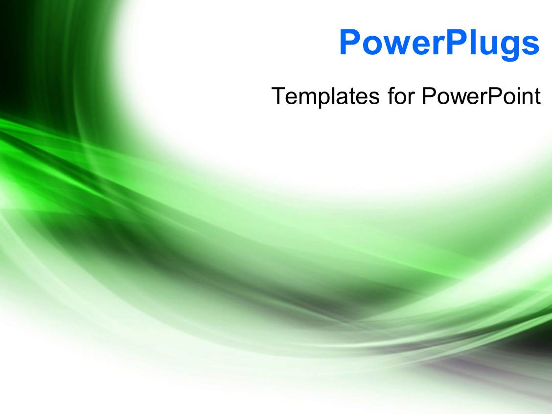 Powerpoint template abstract elegant curves and shades 465 for Power plugs powerpoint templates