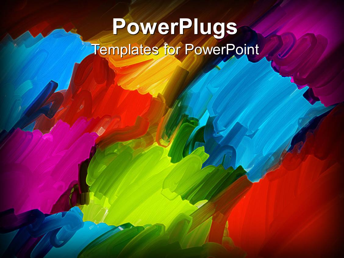 artist powerpoint templates | crystalgraphics, Modern powerpoint