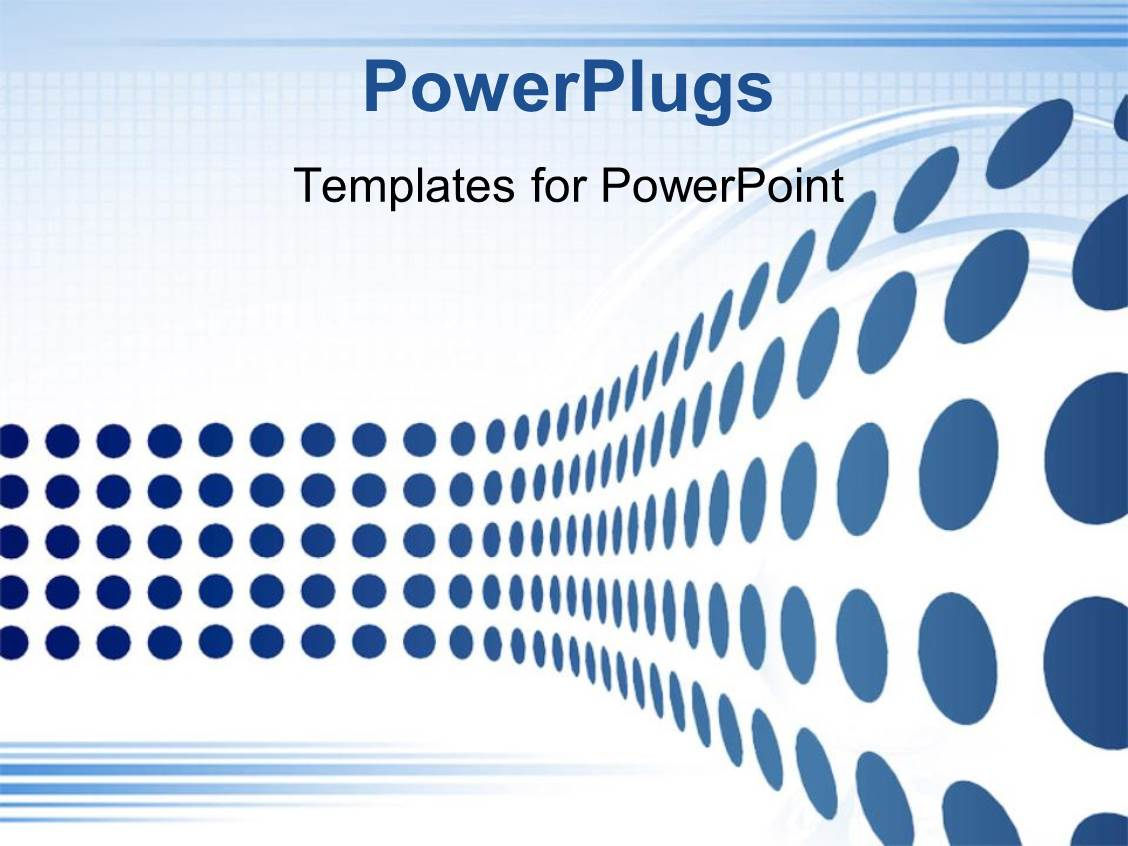 powerpoint template abstract patterned design with blue