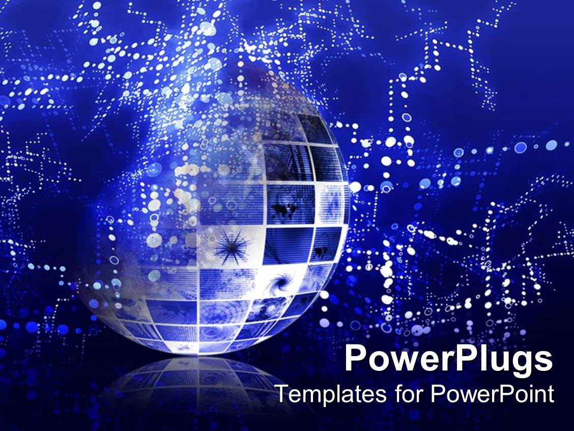 information technology powerpoint templates | crystalgraphics, Modern powerpoint