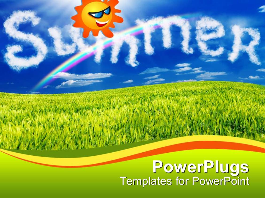 Summer Powerpoint Template Mandegarfo