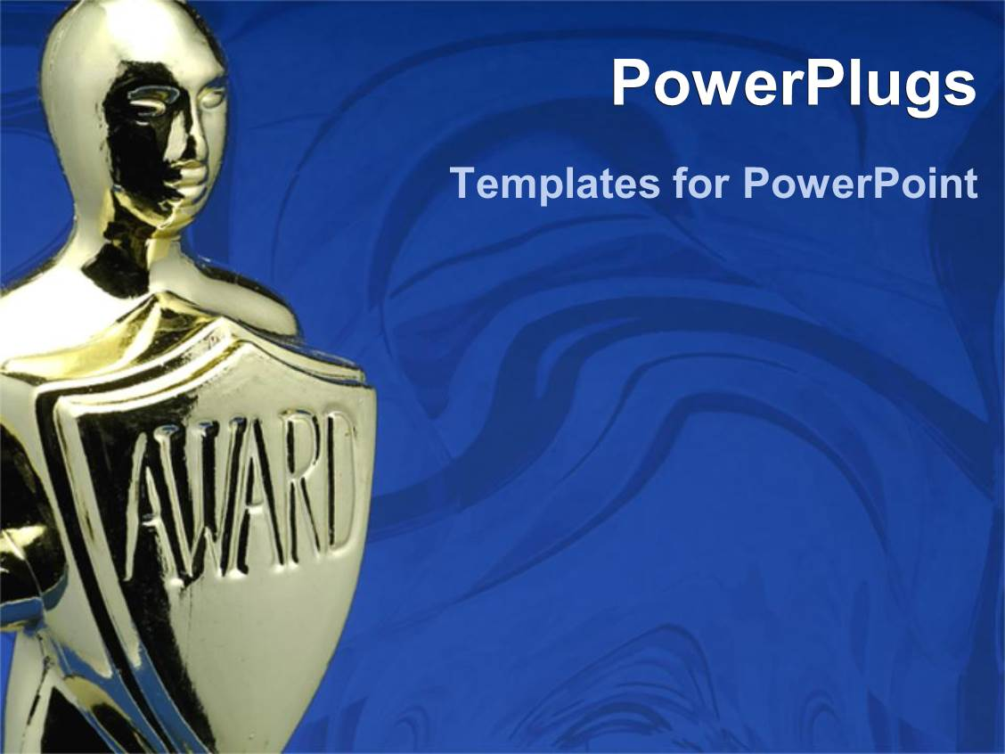 Award template powerpoint powerpoint template gold 3d figure holding powerpoint template award ceremony 2424 award template powerpoint toneelgroepblik