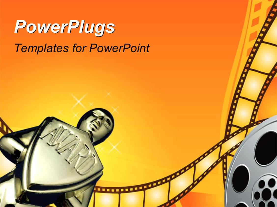 cinema powerpoint template cinema powerpoint ppt
