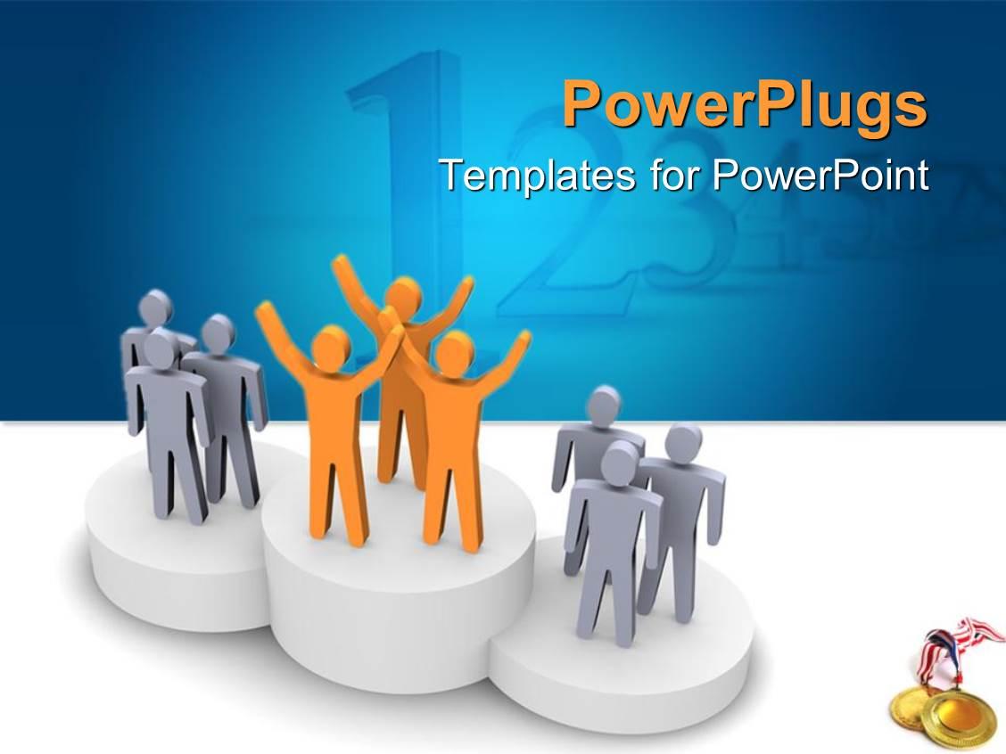 podium powerpoint templates | crystalgraphics, Presentation templates