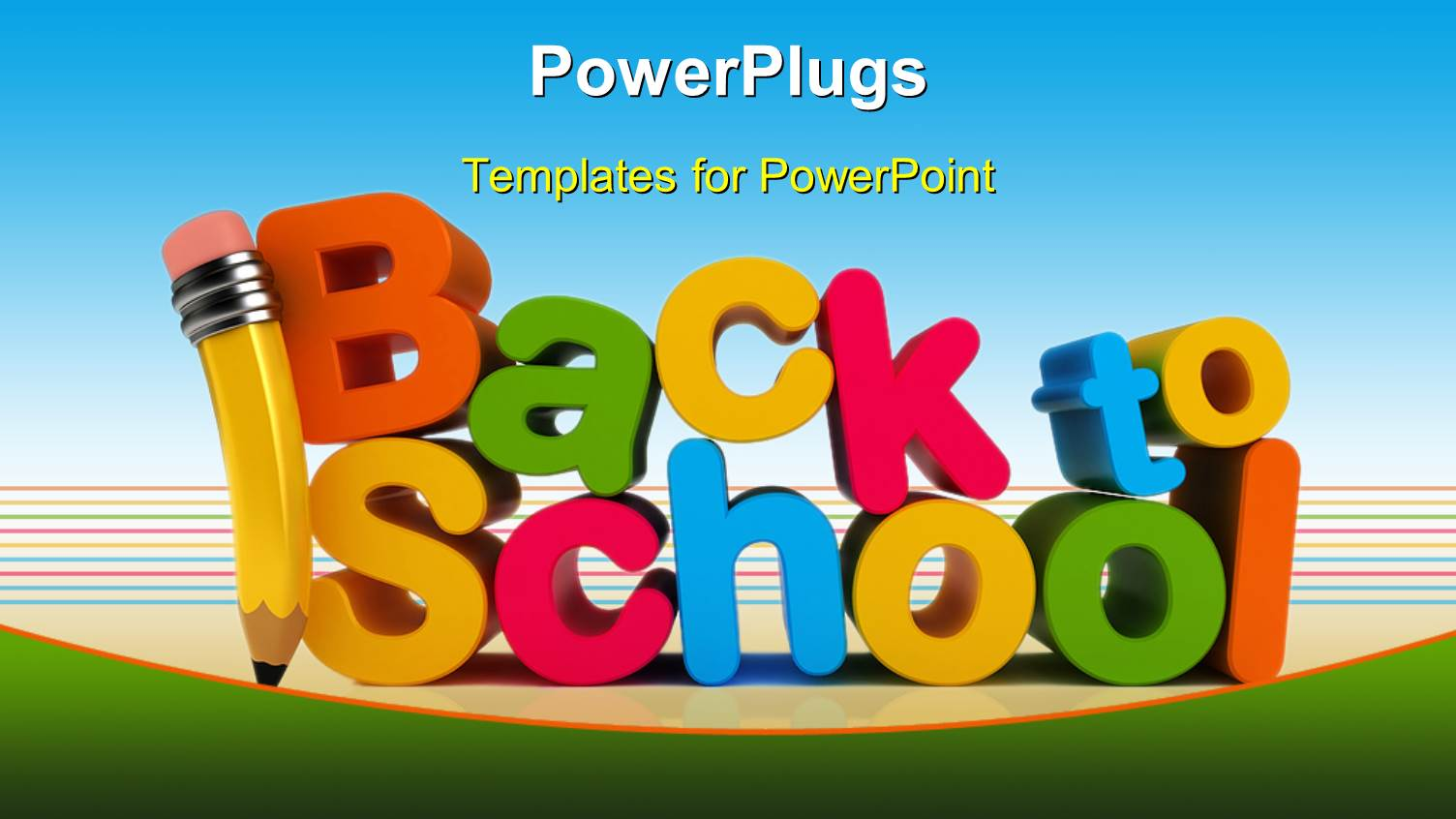 back school powerpoint templates | crystalgraphics, Powerpoint templates