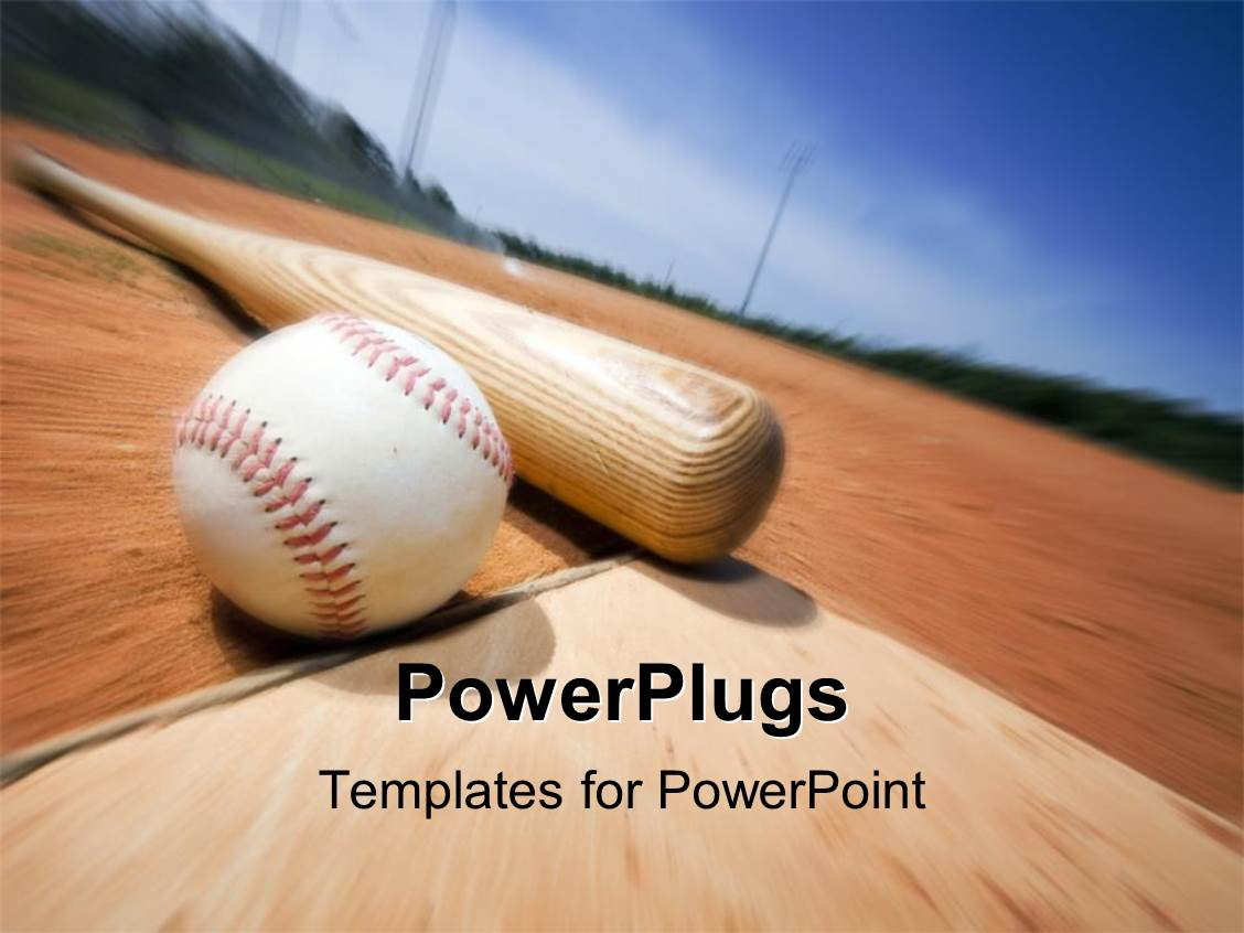 baseball powerpoint templates images - templates example free download, Powerpoint templates
