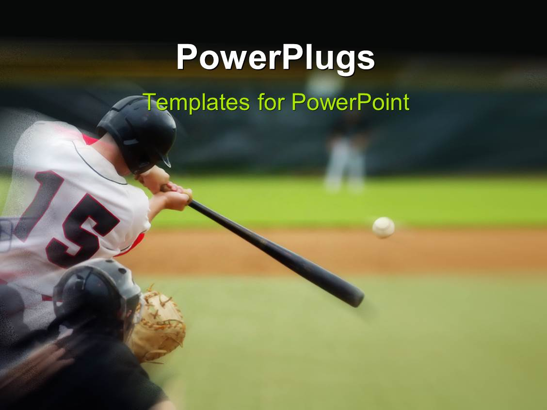 baseball powerpoint templates | crystalgraphics, Powerpoint templates