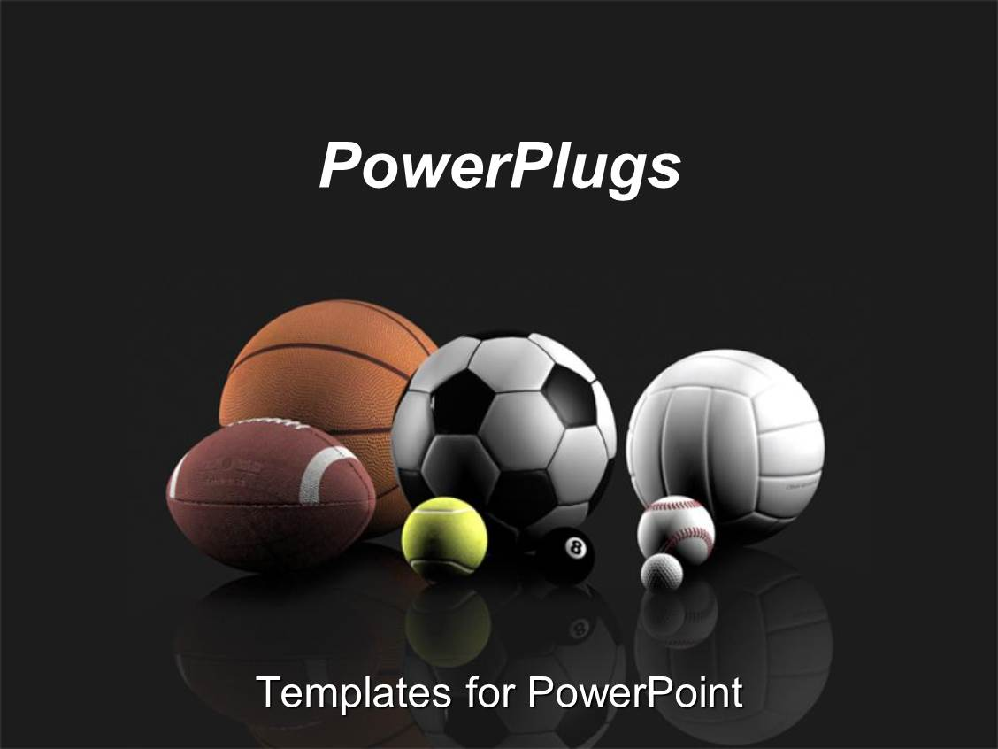 Volleyball powerpoint templates crystalgraphics beautiful slide set with basketball football tennis volleyball golf toneelgroepblik Choice Image