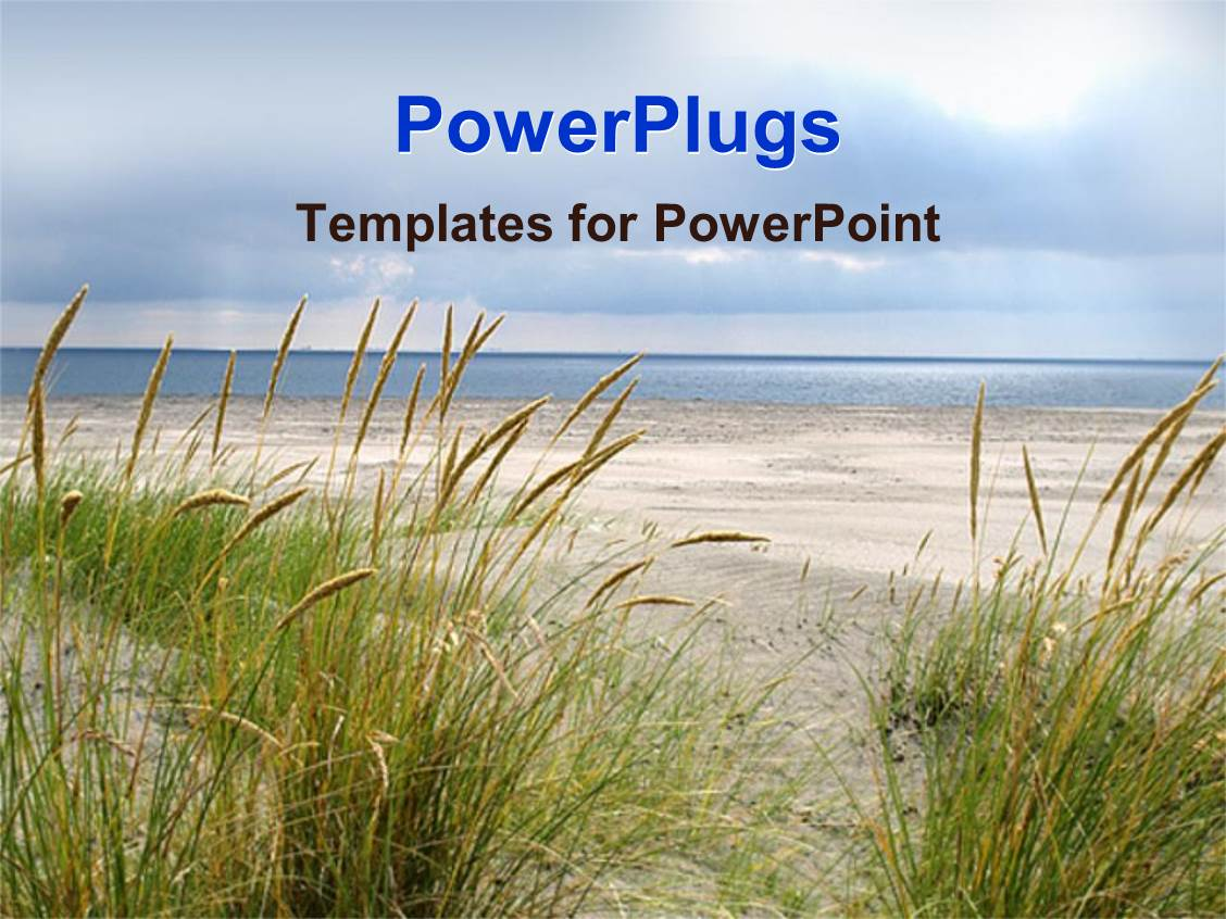 Beach powerpoint templates crystalgraphics audience pleasing presentation theme featuring the beach display with the ocean the sand and the template size audience pleasing presentation toneelgroepblik Gallery