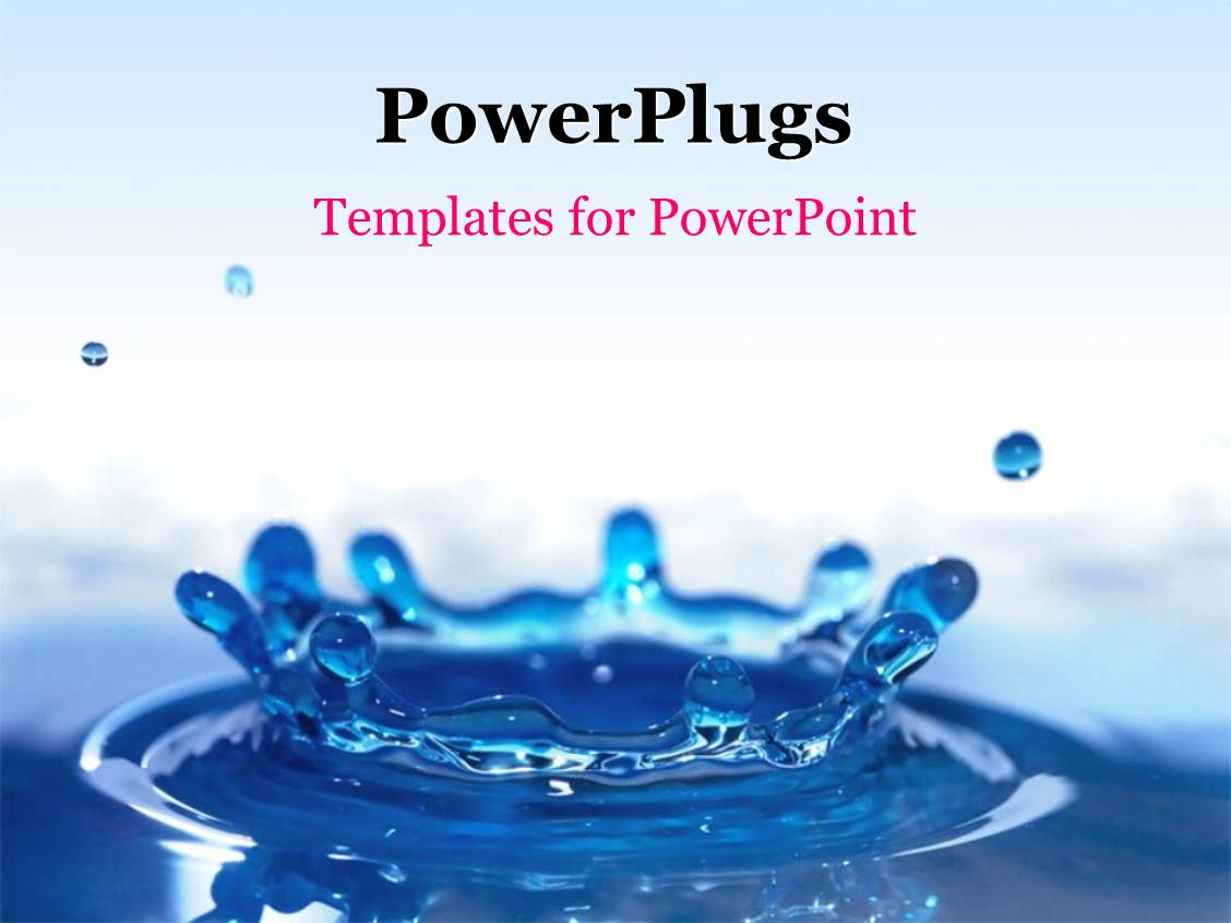 Powerpoint Templates Water