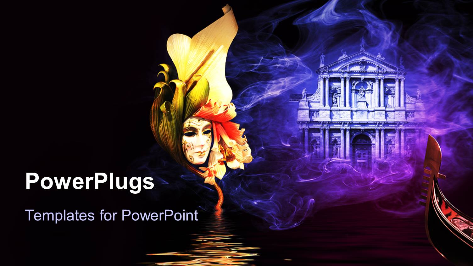 Carnival powerpoint templates crystalgraphics audience pleasing ppt theme featuring a beautiful sketch with building in the background template size toneelgroepblik Images