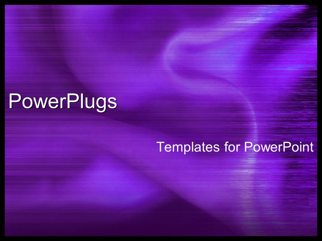 PowerPoint Template Displaying Beautiful Purple Silky Fabric with Abstract Lines on Surface