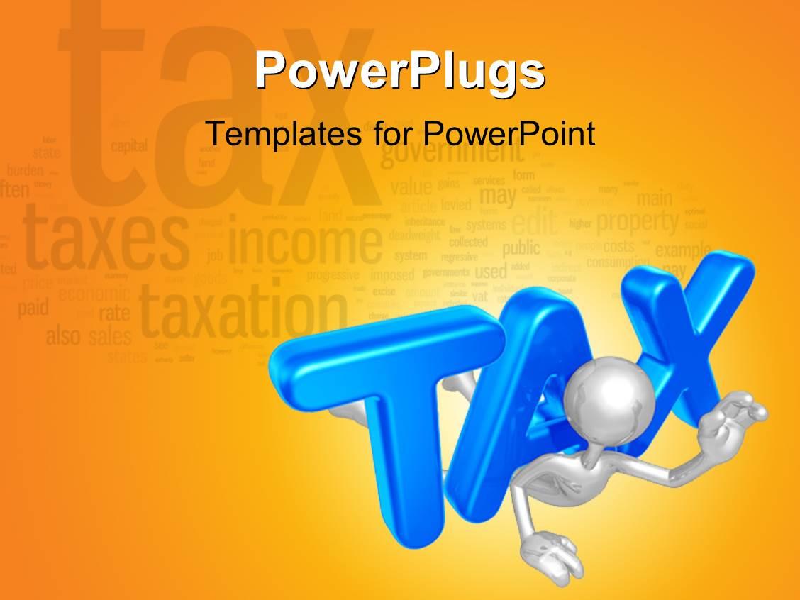 Tax PowerPoint Templates – Tax Templates