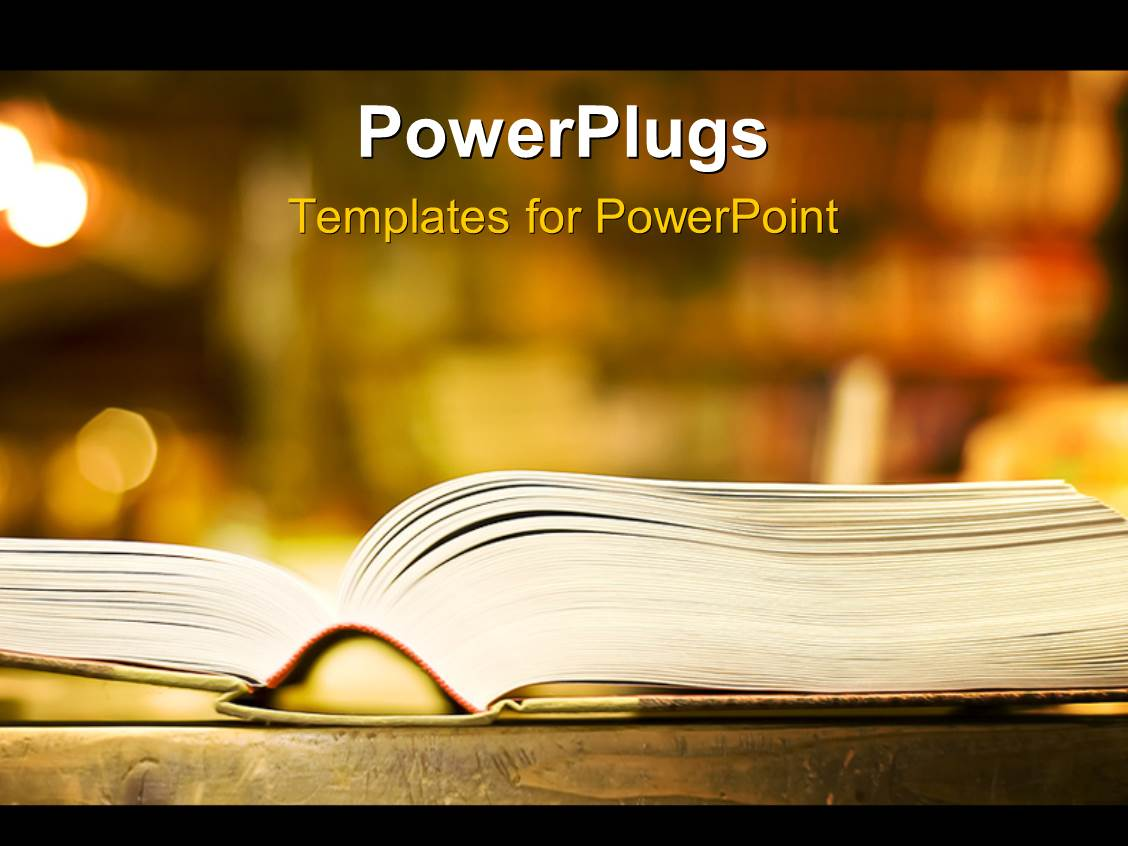 book powerpoint templates | crystalgraphics, Presentation templates