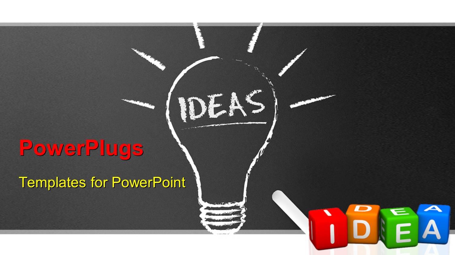 Powerpoint chalkboard template idealstalist recent posts toneelgroepblik Gallery