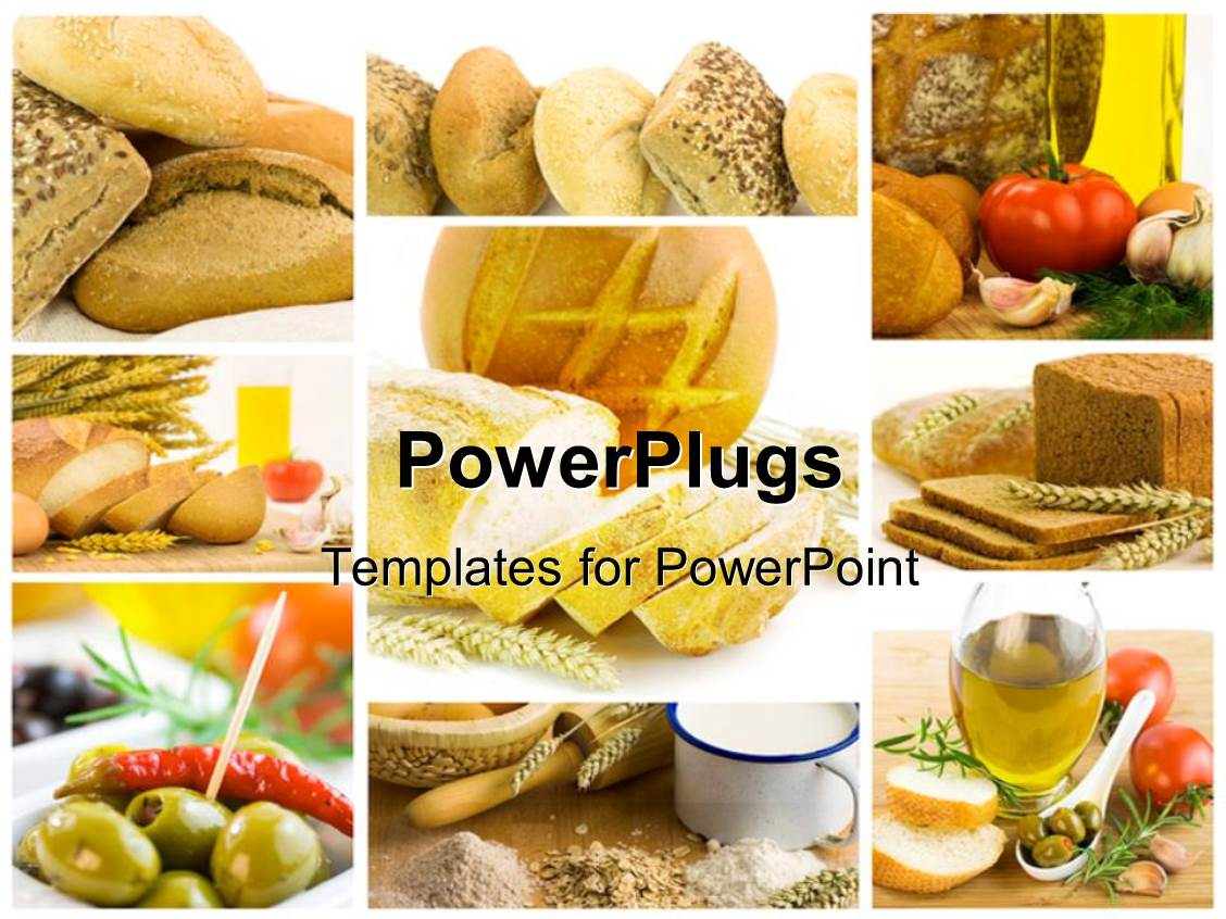 healthy food powerpoint templates | crystalgraphics, Modern powerpoint