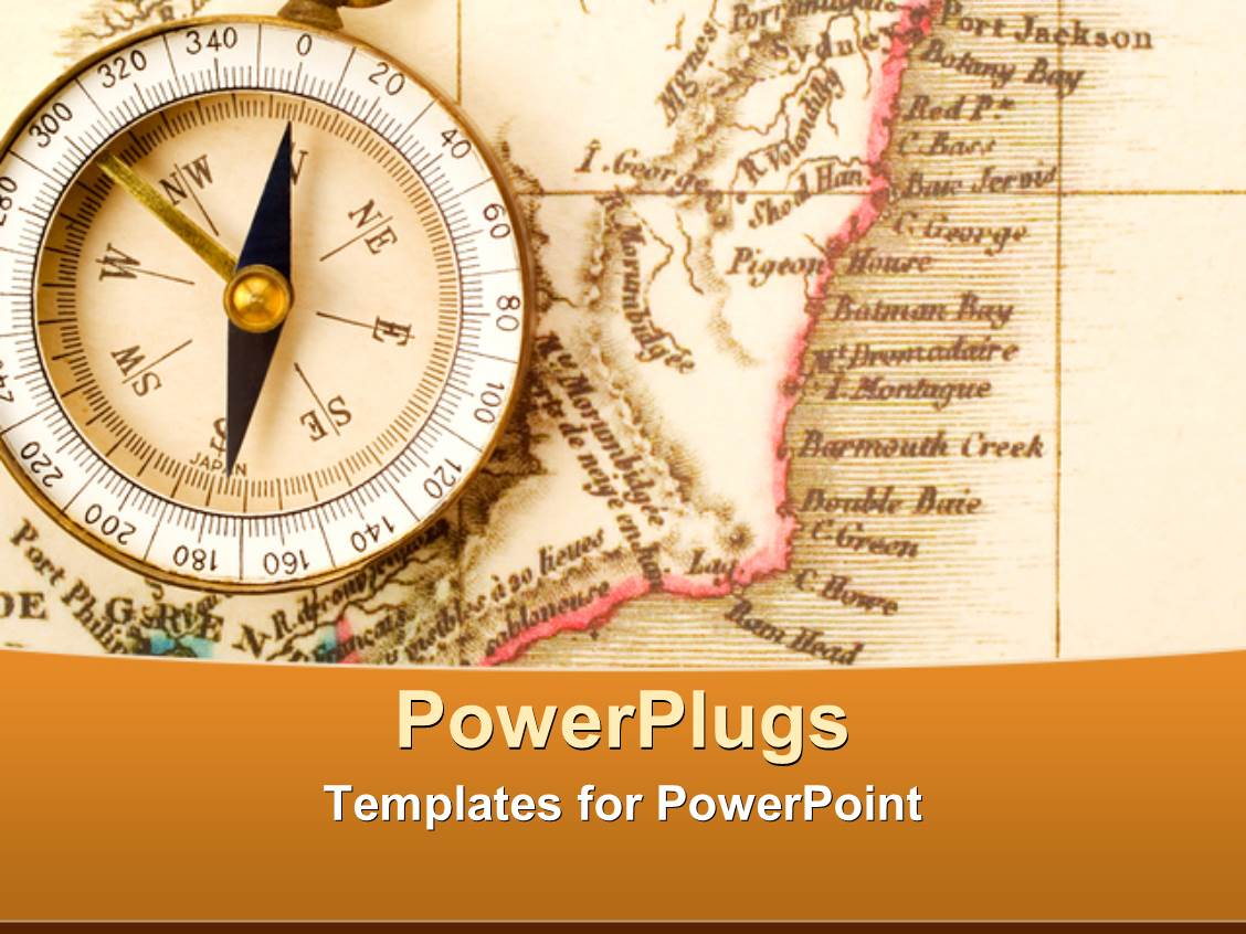 old map powerpoint templates   crystalgraphics, Modern powerpoint