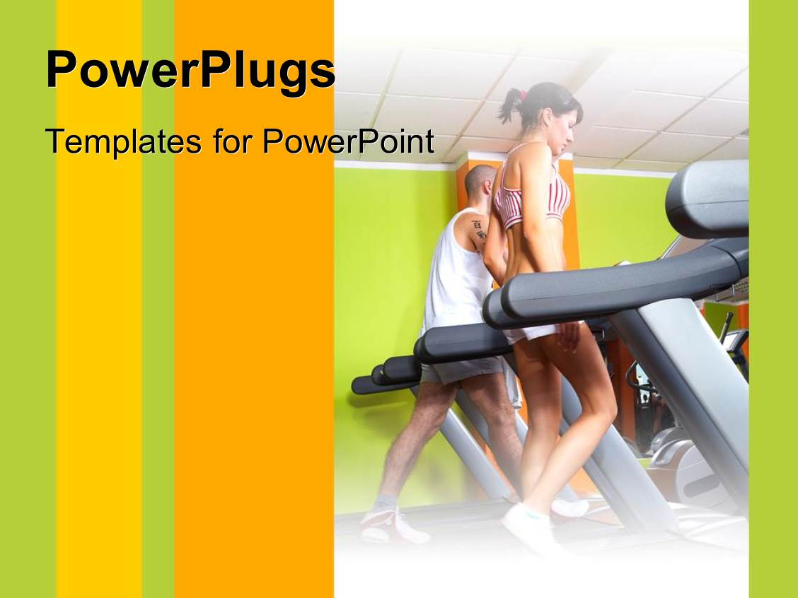 Gym PowerPoint Templates | CrystalGraphics
