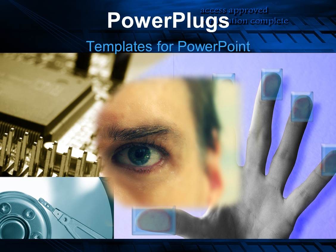 cyber crime powerpoint templates | crystalgraphics, Powerpoint templates