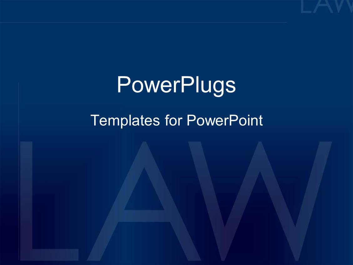 Powerpoint template dark blue plain background with text for Power plugs powerpoint templates