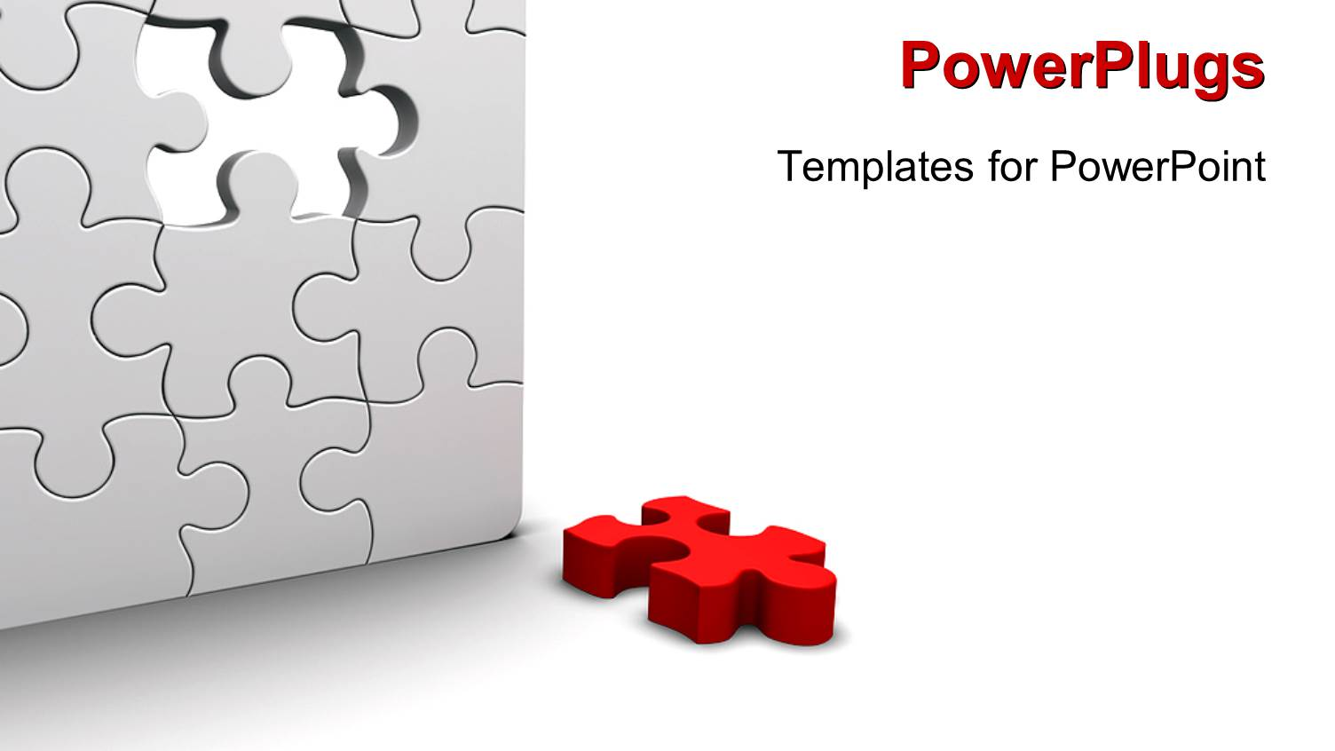 Powerpoint template a number of puzzle pieces together 22541 powerpoint template displaying a number of puzzle pieces together toneelgroepblik Choice Image