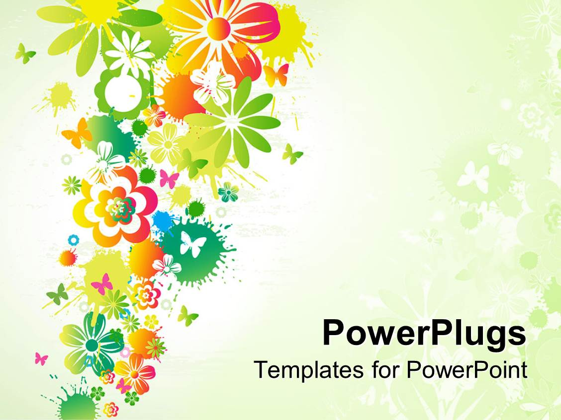 powerpoint templates flowers wwwpixsharkcom images