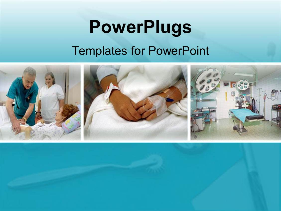 Powerpoint template different patients in the hospital hospital powerpoint template displaying different patients in the hospital hospital different departments toneelgroepblik Choice Image