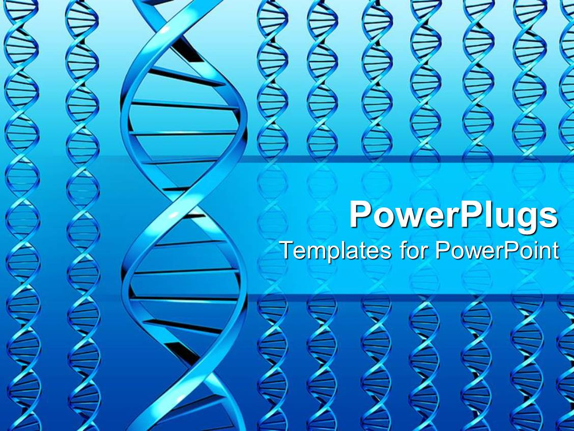 powerpoint template different sets of dna colored in beautiful blue color 9696. Black Bedroom Furniture Sets. Home Design Ideas