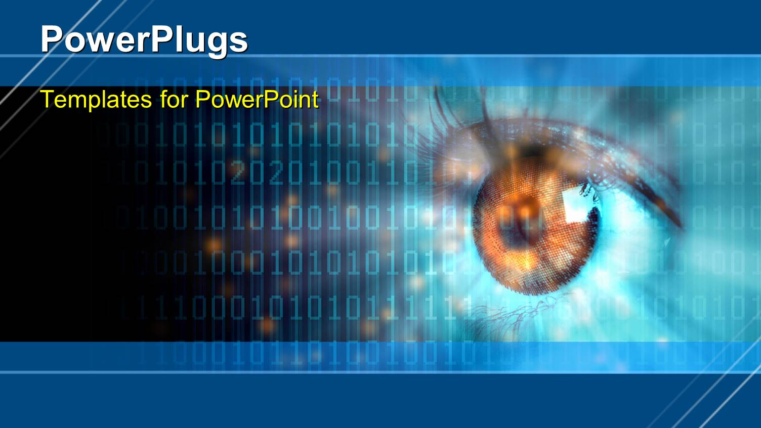 powerpoint template: digital vision (9472), Presentation templates