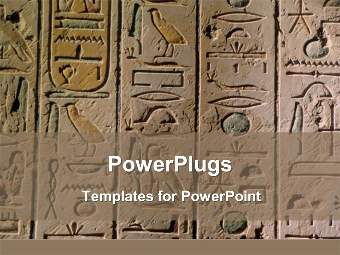 Egyptian Powerpoint Template
