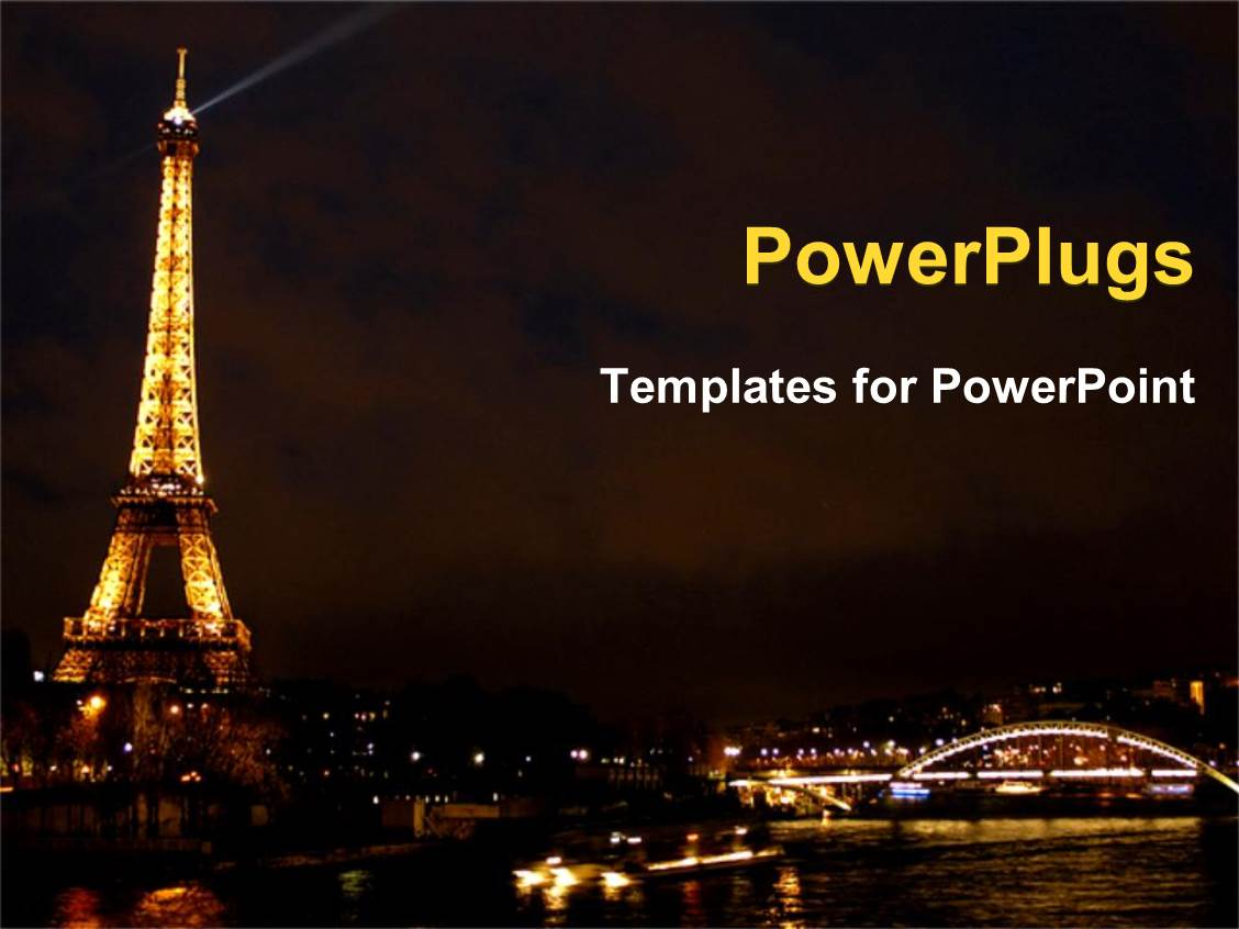 paris powerpoint templates | crystalgraphics, Modern powerpoint