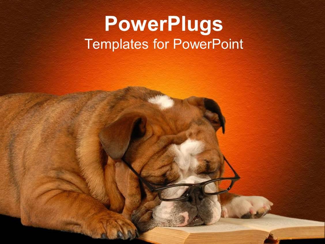 Dog Powerpoint Template - mandegar.info
