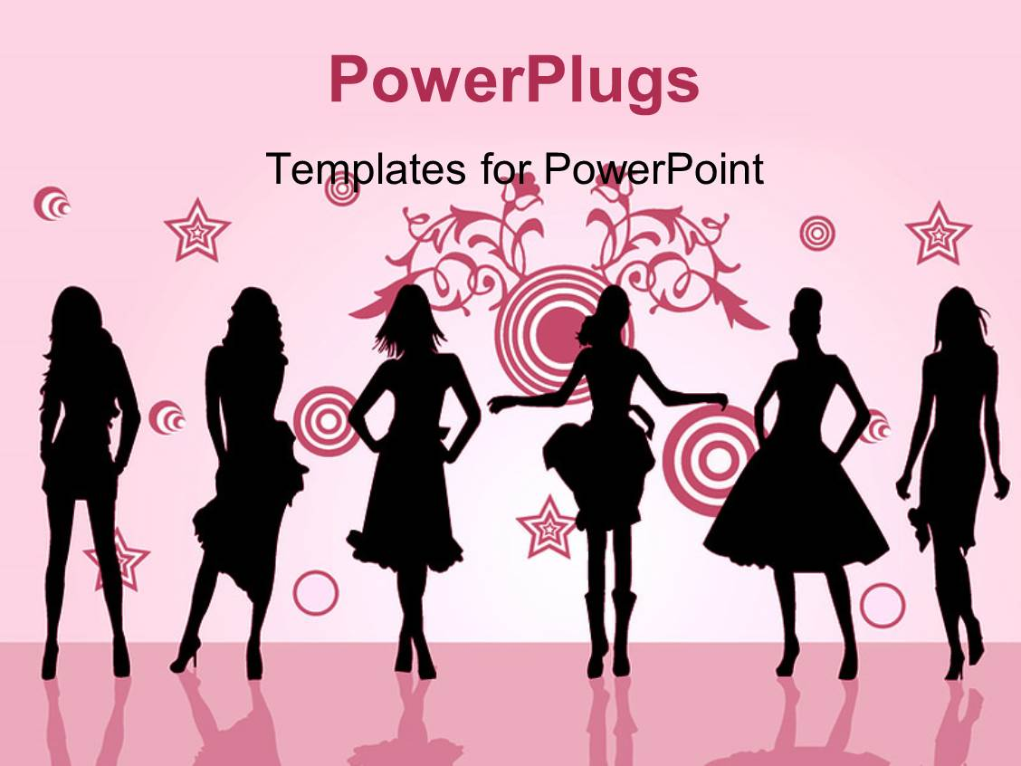 fashion powerpoint templates  crystalgraphics, Powerpoint