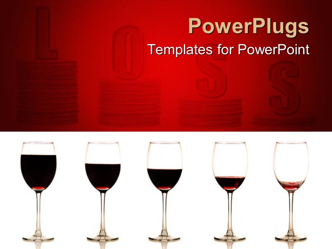 Powerpoint template five glasses of red wine on white background powerpoint template displaying five glasses of red wine on white background glasses of wine in line toneelgroepblik Gallery