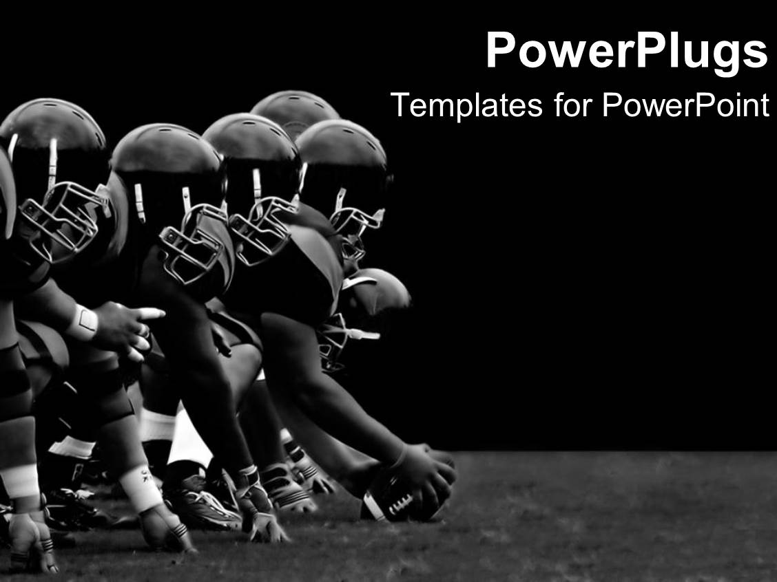 Best Lines PowerPoint Templates – Football Powerpoint Template