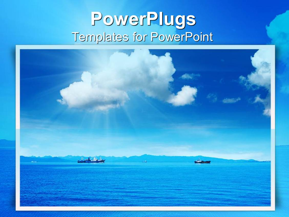 Ocean PowerPoint Templates | CrystalGraphics