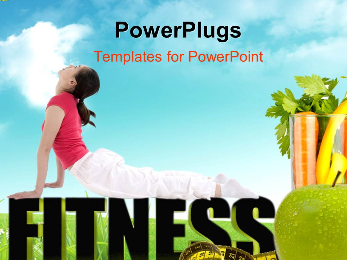 fitness powerpoint templates gallery - templates example free download, Modern powerpoint