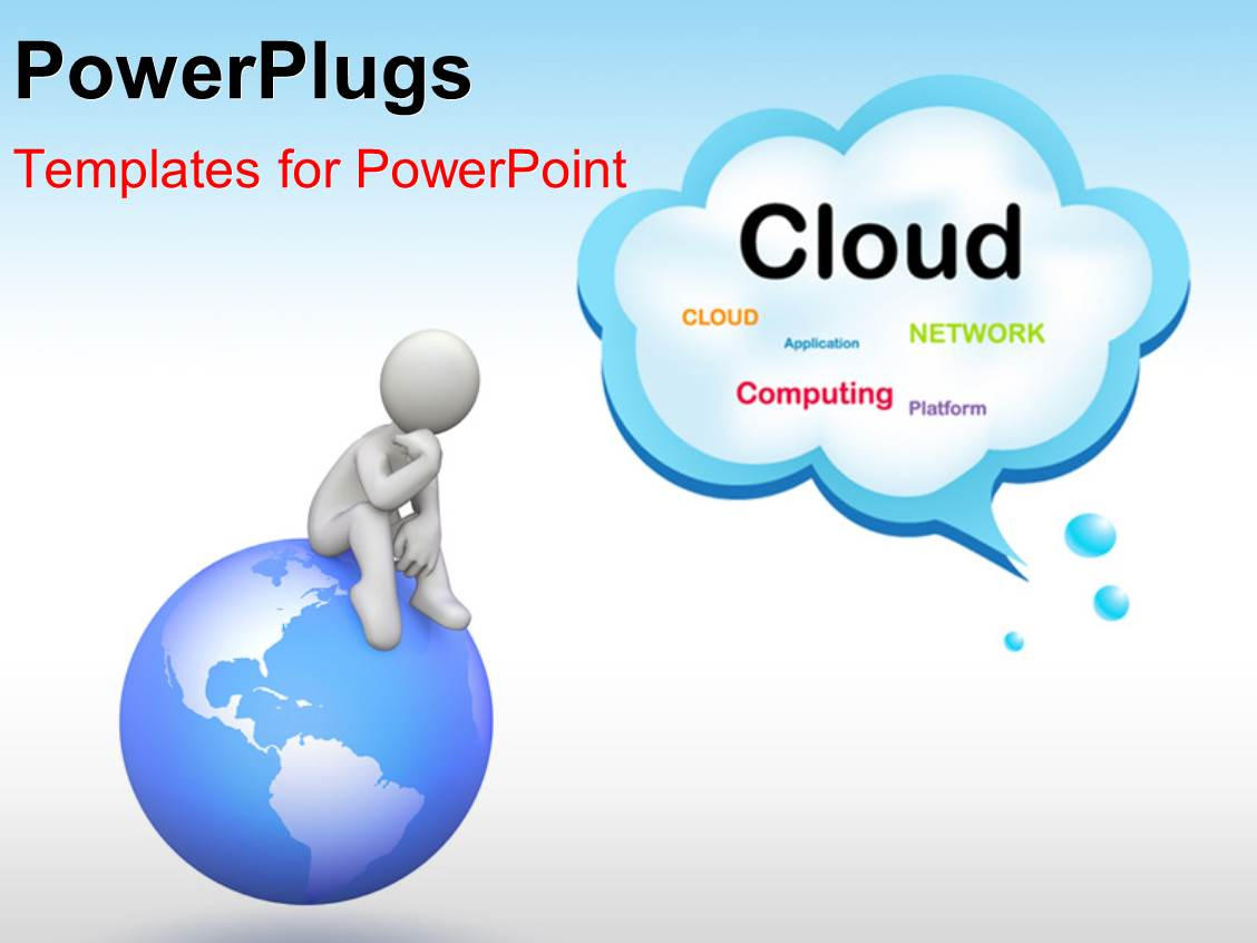 Cloud Template For Powerpoint