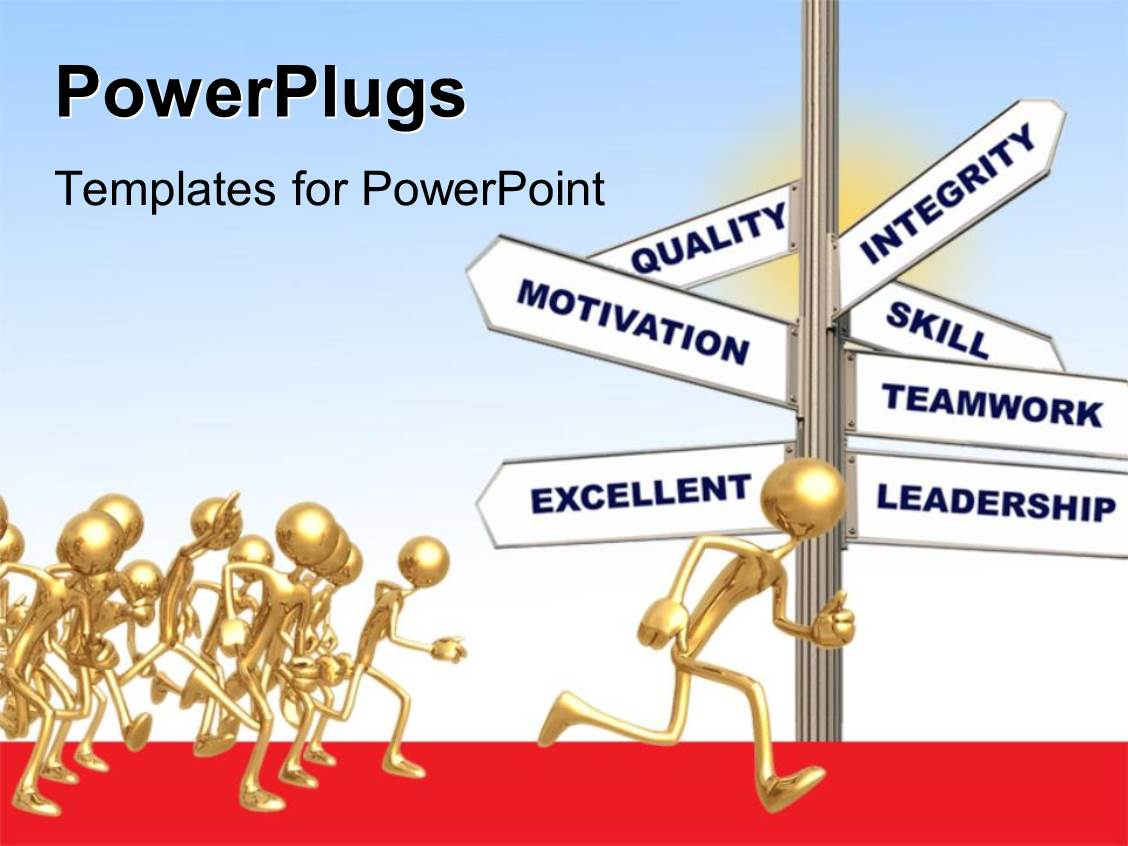 leadership powerpoint templates | crystalgraphics, Modern powerpoint