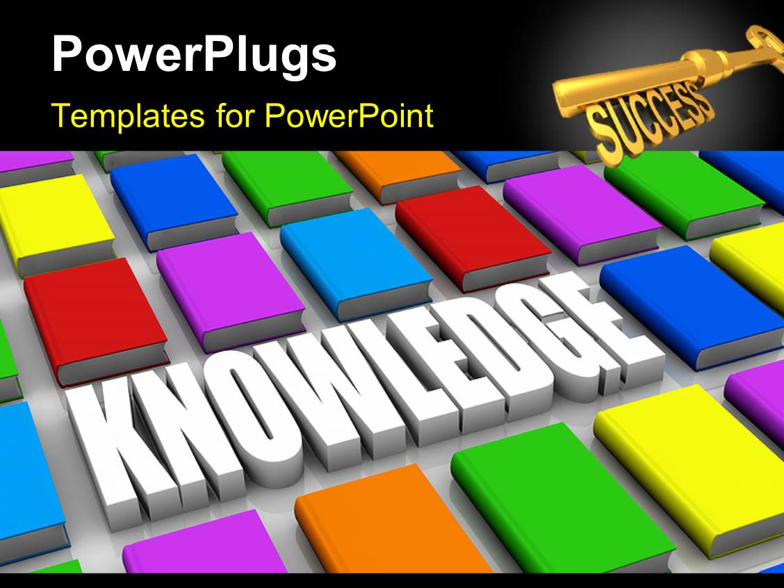 powerpoint template golden success key 3d text knowledge ppt template he words get help here symbolizing the need to offer support and answers
