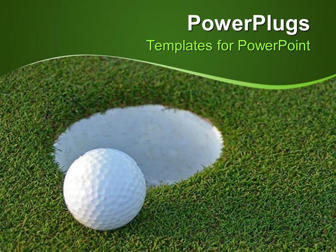 Golf powerpoint templates powerpoint template golf course with white powerpoint template golf ball on green just centimeters golf powerpoint templates toneelgroepblik Gallery