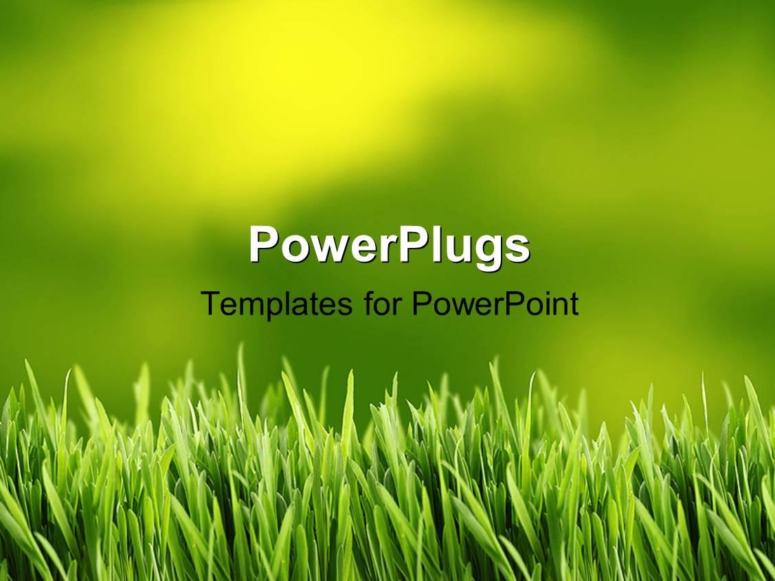 grass powerpoint templates   crystalgraphics, Modern powerpoint