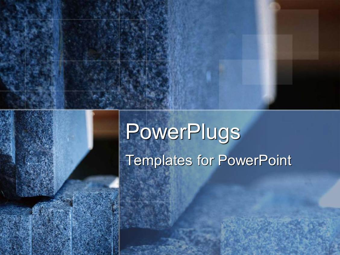 Concrete template powerpoint page / 2018