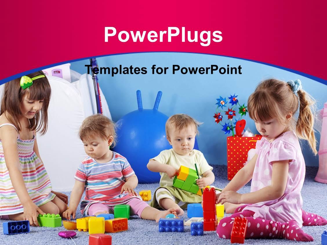 Powerpoint Template Children
