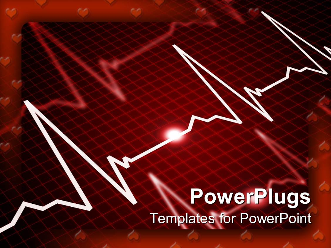 Best Cardiology PowerPoint Templates – Heart Rate Chart Template